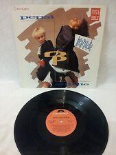 PEPSI & SHIRLIE - HEARTACHE -VINTAGE 1987 POLYDOR RECORDS 12' SINGLE - 885-929-1
