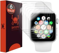 Skinomi Clear (6-Pack) Screen Protectors for Apple Watch 42mm Series 2