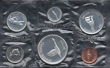 Canada 1867-1967 Proof Like PL Coin Set by Alex Colville UNC 1.1 OZ Pure Silver