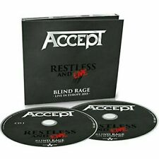 ACCEPT - RESTLESS & LIVE - 2 CD