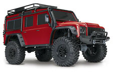 Traxxas Defender TRX-4 Land Rover 1:10 Scale & Trail Crawler Red - 82056-4