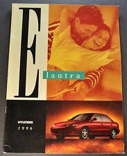 1996 Hyundai Elantra Catalog Sales Brochure GLS Excellent Original 92