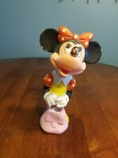 New listing Walt Disney Minnie Mouse Soft Plastic Rubber Squeeze Toy Made In Korea