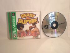 Ready 2 Rumble Boxing (Sony PlayStation 1, 1999)  complete