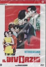 Dvd **IL DIVORZIO** con Vittorio Gassman nuovo sigillato 1970