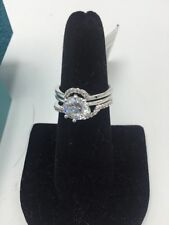 $48 Betsy Johnson Betsey Blue Engagement Ring BSS206