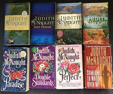Lot 8 Judith McNaught Romance Books Historical Contemporary