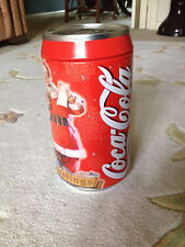 Christmas Coca-Cola tin bank
