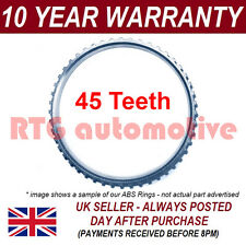 FOR AUDI 80 90 100 200 COUPE CABRIOLET 45 TOOTH FRONT REAR ABS RELUCTOR RING