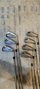 Srixon ZX5 and ZX7 Combo Irons 4-PW, Modus 120X shafts