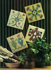 Plastic Canvas Native American Indian Centerpiece Canoe Tiles Lantern Patterns