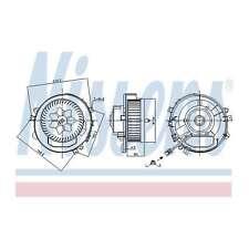 Fits VW Golf MK7 1.6 TDI 4motion Nissens Interior Heater Blower Motor Fan