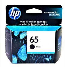 HP 65 Original Black Ink Cartridge, HP Deskjet 2600 Series, ENVY 50 series