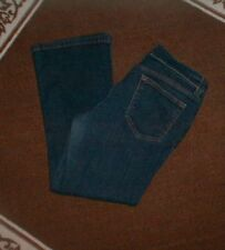 DKNY JEANS SOHO STRETCH BOOT CUT DENIM BLUE JEANS SIZE 10 R