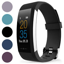 Proworks Fitness Tracker Touch Screen Activity Watch & Pedometer Step Counter W