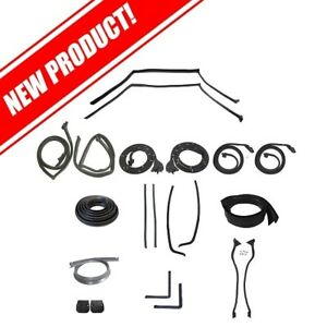 1964-1965 Lincoln Continental 4 Door Sedan Body Weatherstrip Kit