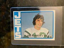 1972 Topps Football #100 JOE NAMATH.........EX-MT++