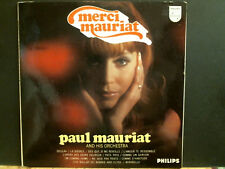 PAUL MAURIAT  Merci Mauriat  LP  UK stereo  pressing 1968   Great !