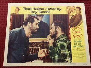Lover Come Back Original Movie Lobby Card #3 62/19 1962 11x14
