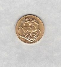 1911M GOLD SOVEREIGN IN EXTREMELY FINE CONDITION