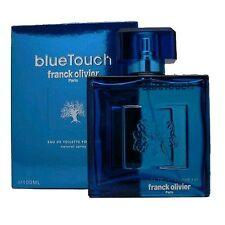 Blue Touch Cologne by Franck Olivier, 3.3 oz EDT Spray for Men NEW