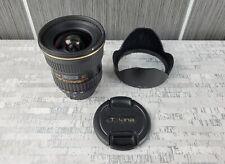 Tokina AT-X PRO SD 12-24mm F4 IF DX II Digital SLR Camera Lens w BH-777 Hood