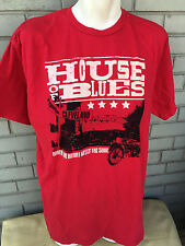 House of Blues Cleveland Red XXL T-Shirt Heart Meets The Soul