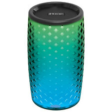 iHome iBT78V2 Bluetooth Colour Speaker with Siri and Google Assistant Black