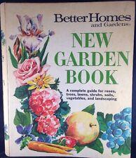 New Garden Book Better Homes 2nd Ed 1975 PlantingTrees Flowers Decorate Vtg