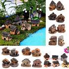 1pcs DIY Mini Miniature Thatched House Fairy Garden Craft Micro Landscape Decor