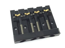 Hipshot Black KICKASS ™ Bass Bridge for Top Load Fender P/Jazz Bass® 5K400B