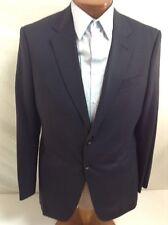 GIORGIO ARMANI 'Taylor' Navy Blue 2-BT Super 150's Wool Suit 40R/34 EU 50R