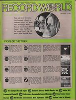 Record World September 11 1971 Paul and Linda McCartney EX 120715DBE
