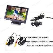 "Car Rearview Camera 4.3"" TFT Color Display  Car Reversing Monitor Night Vision"