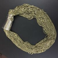 340e59fb850b7 Wholesale 50-Pcs Lot Solid Brass Free Ship Antique Unisex Chain Necklace  sss102