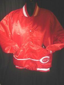 Cincinnati Reds MLB Men's Quilt Lined Front Snap Starter Jacket 3X