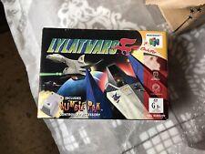 Lylat Wars Australian Version Rare - Nintendo 64 - N64 - PAL - Used
