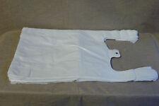 2000 sacs en plastique blanc SACS DE TRANSPORT SACS BRETELLE poches