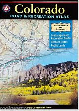 National Geographic Benchmark Colorado Road & Recreation Atlas Map BE0BENCOAT