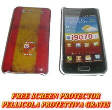 Pellicola+custodia BACK COVER rigida SPAGNA per Samsung I9070 Galaxy s Advance