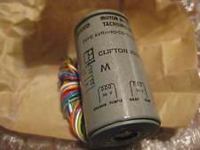 Clifton Precision Servo Motor Rate Tachometer p/n AVRH-10DD-13/A614   New