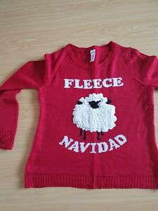 Red Sheep Christmas Jumper Size 12