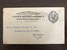 R W Gardner Gardners Syrup Lettercard 1902 Signed