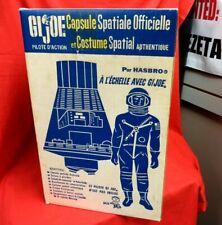 1964 VINTAGE GI JOE JOEZETA :  DUAL LANGUAGE FRENCH CANADIAN SPACE CAPSULE BOXED