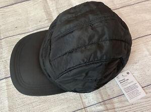 NWT Lululemon Pinnacle Warmth Hat BLK Black M/L