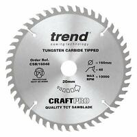 Trend Craft Pro TCT Sawblades Trimming Crosscut Blades Professional Quality