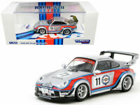 Tarmac Works Porsche RWB 993 Rough Rhythm #11 Martini 1:64