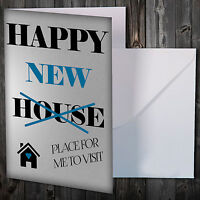 Greetings Card New Home Congratulations / Comedy/ Novelty/ Funny