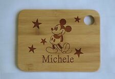 Personalized Mickey Cutting Board,Custom Bamboo,Housewarming Gift,Kitchen Decor