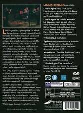 Xenakis: Linaia-Agon / Zythos, New DVDs